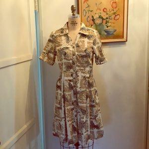 "Anthropologie  corduroy dress, ""girls from savoy"""